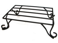 rectangular wrought iron trivet