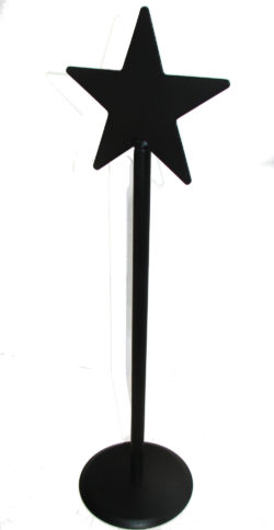 wrought iron paper towel holder star top