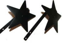 star curtain tie backs