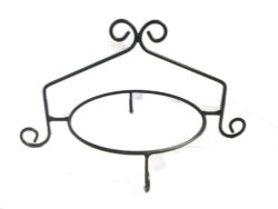 single tier pie rack cupcake stand wrought iron